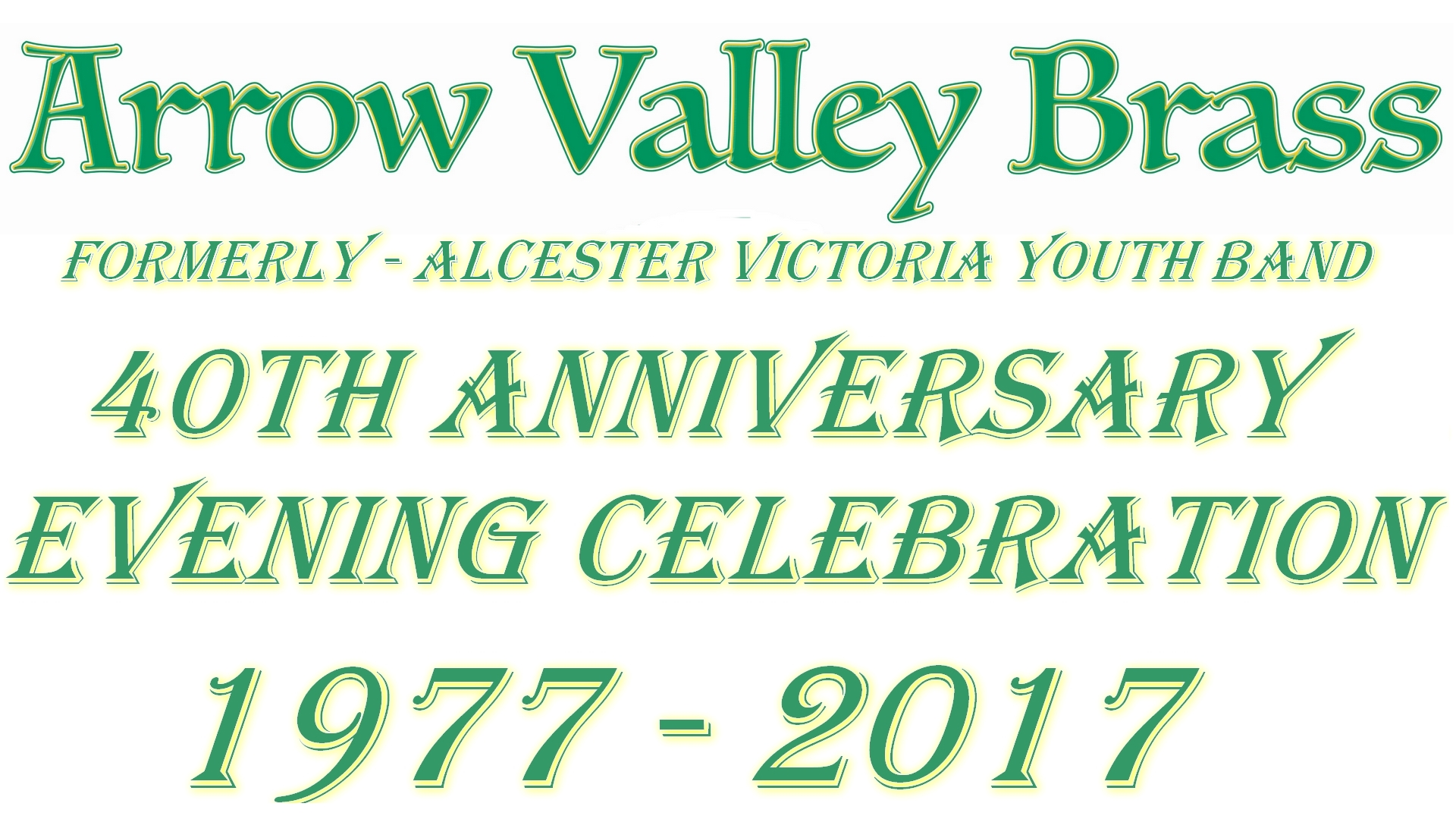 40th Anniversary Flyer